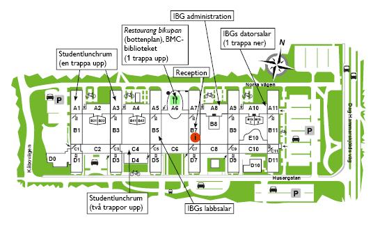 Kartor Institutionen For Biologisk Grundutbildning Uppsala
